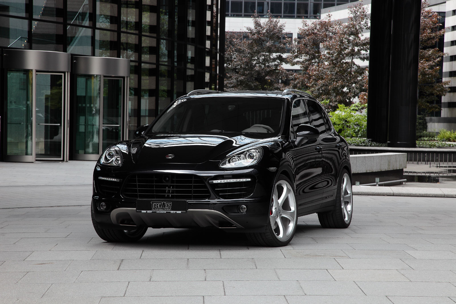Techart Styles Up The New 2011 Porsche Cayenne Carscoops
