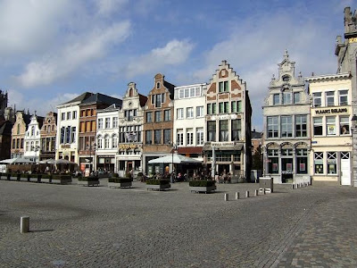 Main Market Square in Mechelen