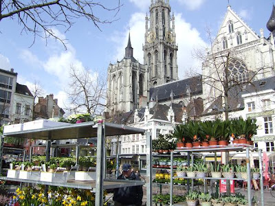 Antwerp Flower Market