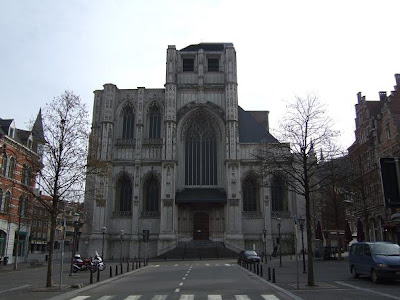 front of St. Peter's Church