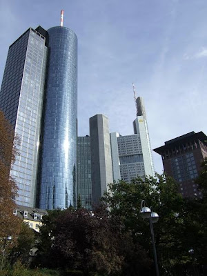 skyscrapers in Frankfurt