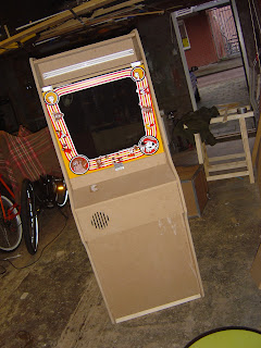 Building A Donkey Kong Arcade Cabinet Monitor Support