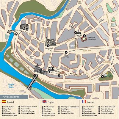 Peñaranda De Duero Mapa.La Oficina De Turismo Virtual De La Ribera Del Duero Si