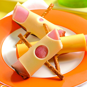 Image result for meat and cheese rollup