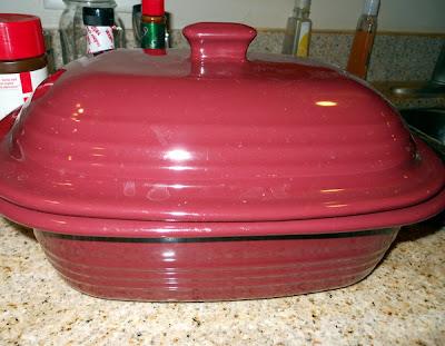 Roasted red pepper pork chops pots