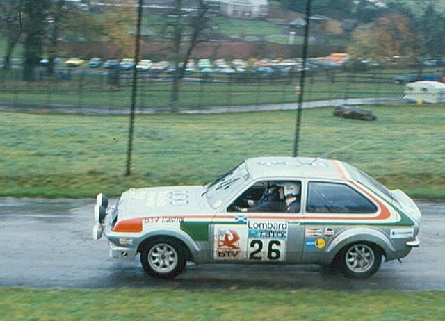 DECAL VAUXHALL CHEVETTE 2300 HS JIMMY McRAE C.OF IRELAND 1979 DnF 01