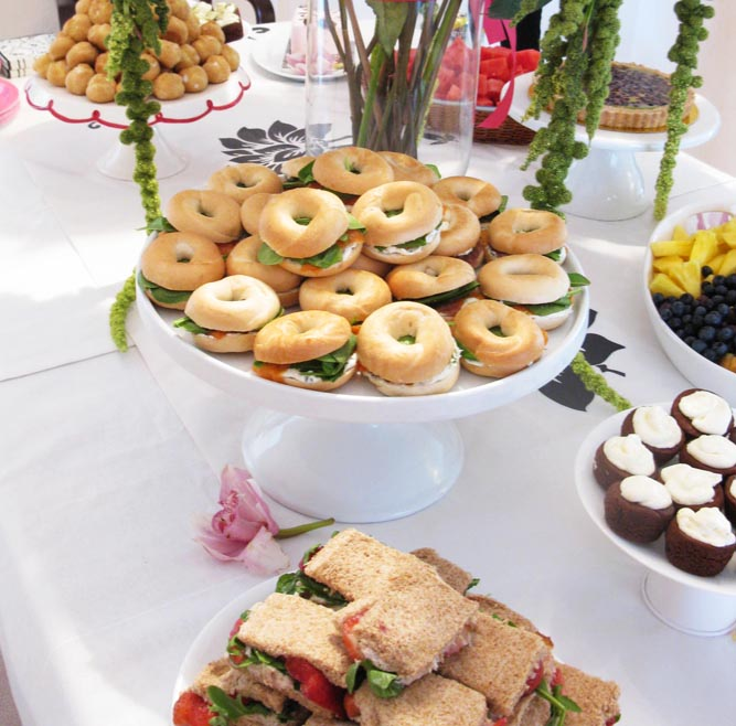 "Homemade Wedding Food: Celebrate Beautifully: Bridal Shower DIY And ""No Sweat"