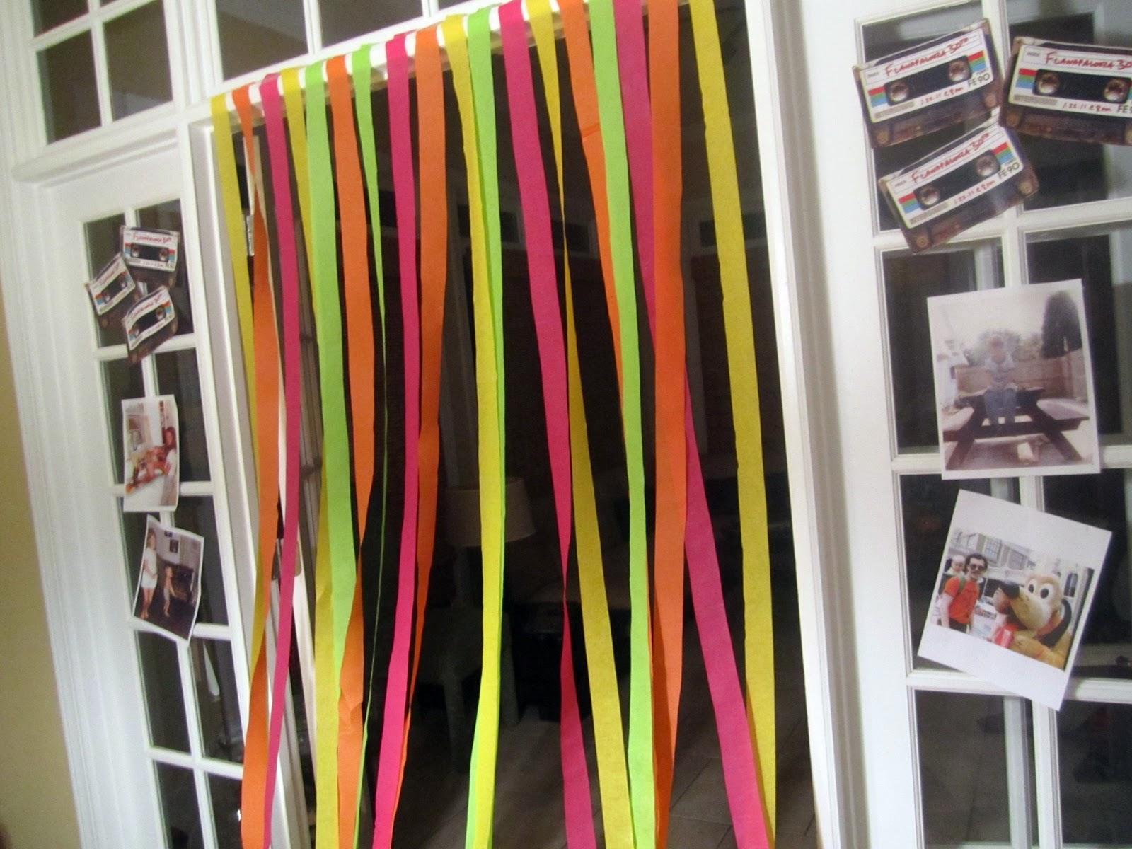 25th Birthday on Pinterest | Streamers, Neon Party and Neon