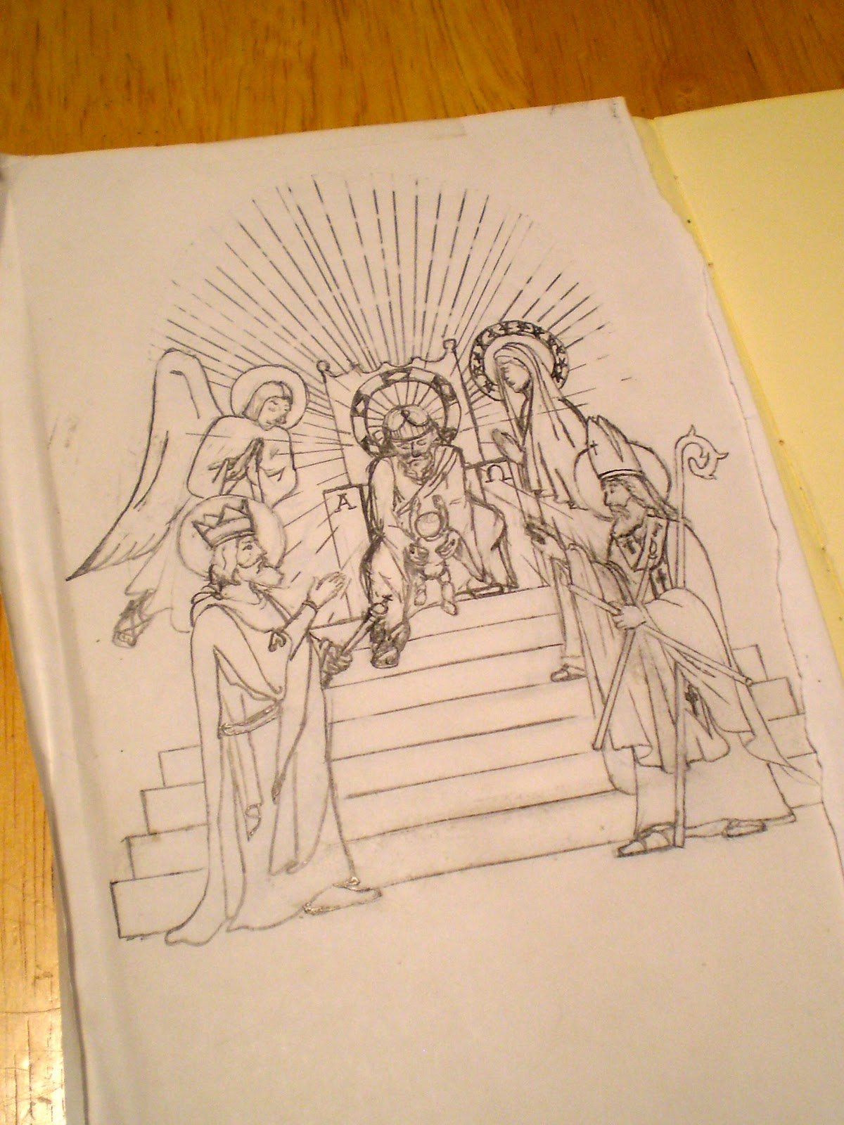 Permanent Sketch Book: Ecclesia Domestica: Probably The Most Permanent Piece Of