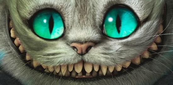 Tim Burton s Alice in WonderlandAlice In Wonderland Cat Smile Tattoo