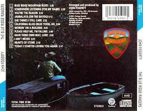 Las Galletas De Maria John Fogerty The Blue Ridge Rangers 1973 Us