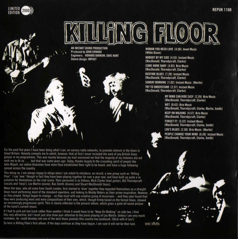 Killing Floor 2 Incursion: Las Galletas De Maria: Killing Floor- Killing Floor (1969