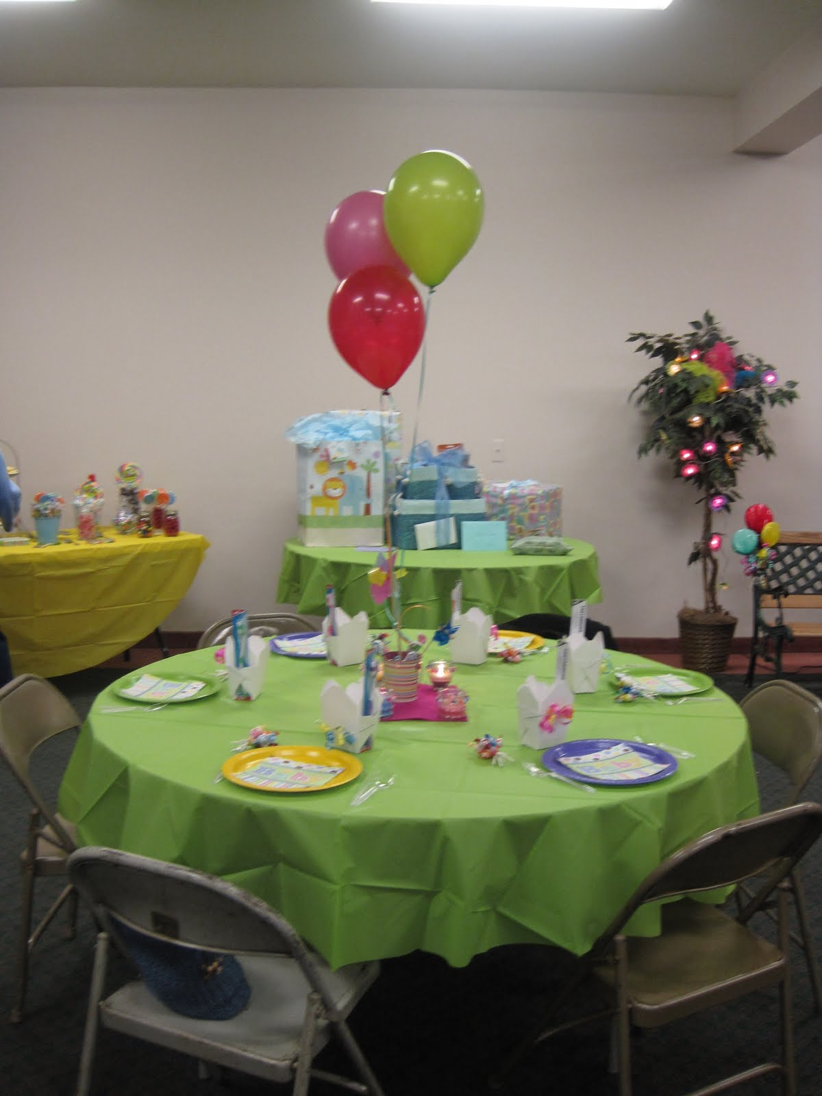 Julie's Productions: Candyland Baby Shower