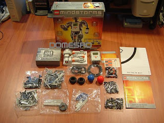 DomesRO: Lego Mindstorms NXT - A Tinkerer's Dream Kit