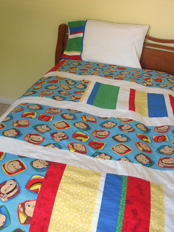 Handmade Mommy Quilted Duvet Cover With How To