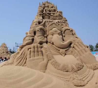 Festival Mundial de Esculturas de Areia 2009