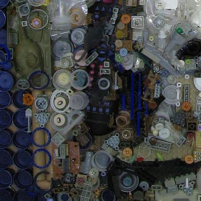 Retratos de lixo por Freeman Zac 4
