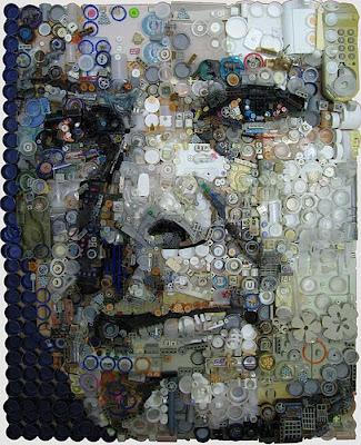 Retratos de lixo por Freeman Zac 3