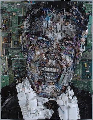 Retratos de lixo por Freeman Zac 15