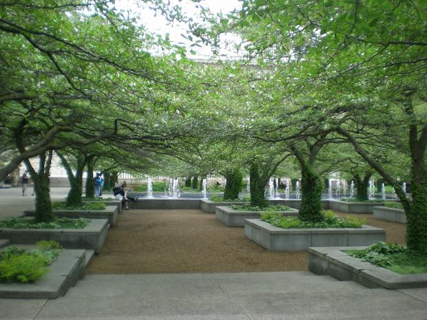 South Garden Of Art Institute