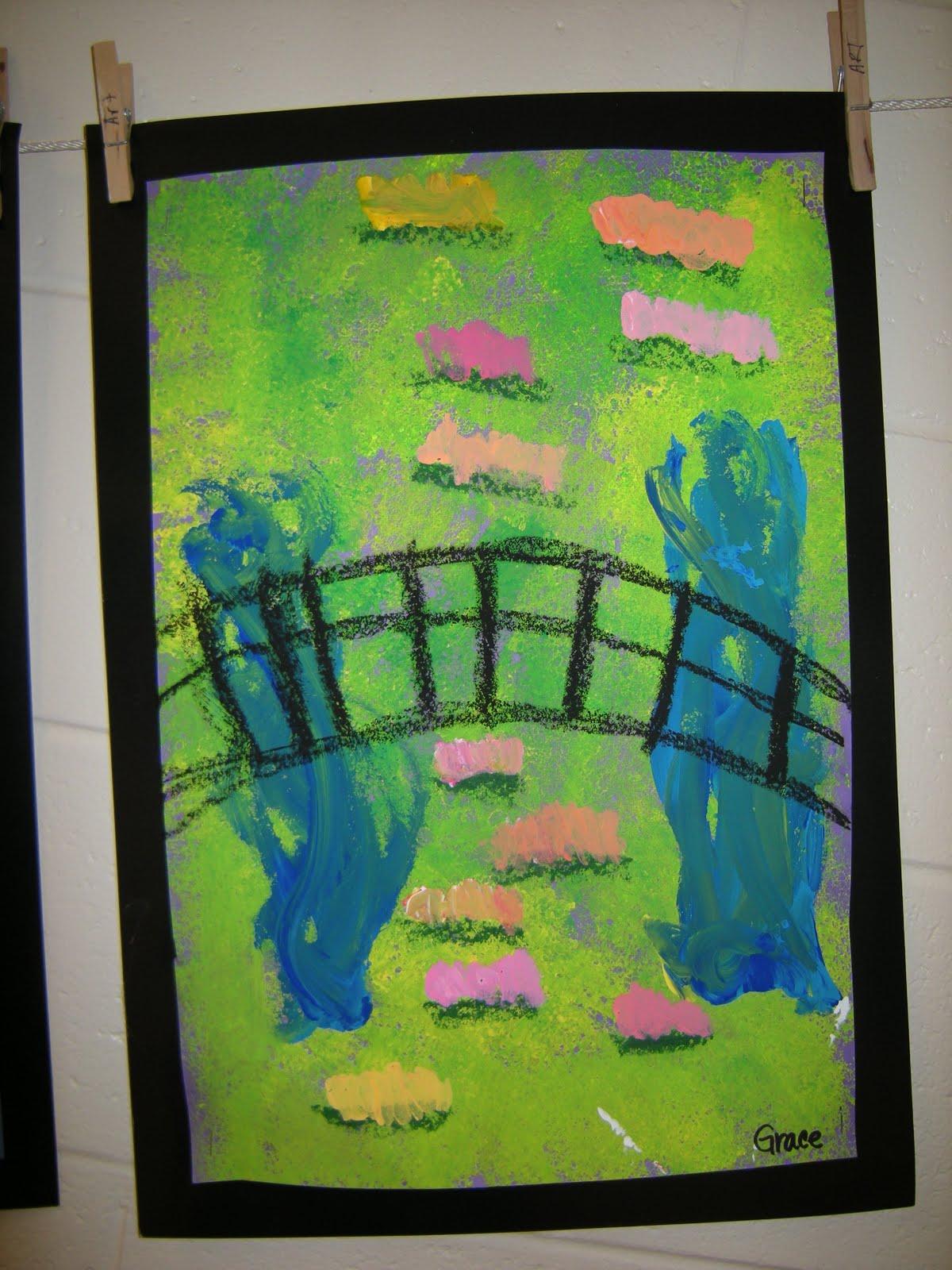 Tart Teaching Art With Attitude Magical Water Garden Of