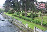 Salas, puente sobre el río