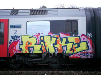 Rinke TRC TPA train graffiti