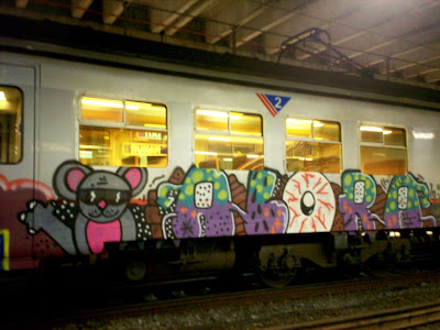 Mouse graffiti