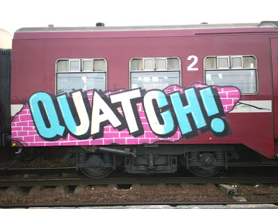Quatchi graffiti