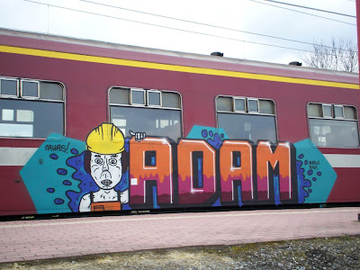Adam graffiti