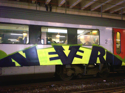 Never graffiti