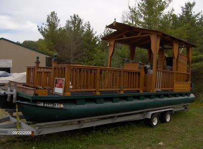 A Pontoon Boat Walks Into A Woody Boat Bar Classic