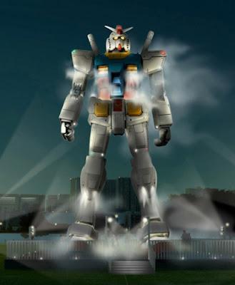 gunda, gambam gundam, picture gundam, gundam film, gundam difilemkan, gundan robot besar di jepun,