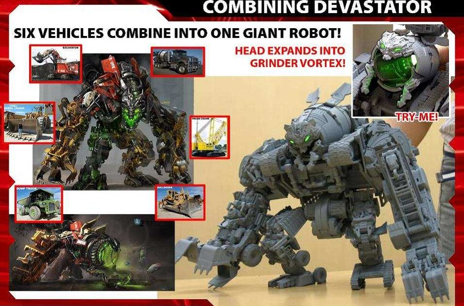 Transformers Live Action Movie Blog Tflamb Devastator