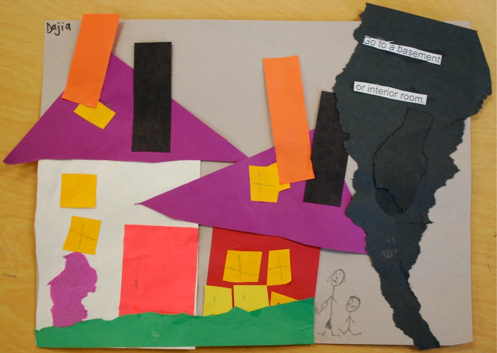 Adventures Of An Art Teacher 1st Grade Tornado Safety