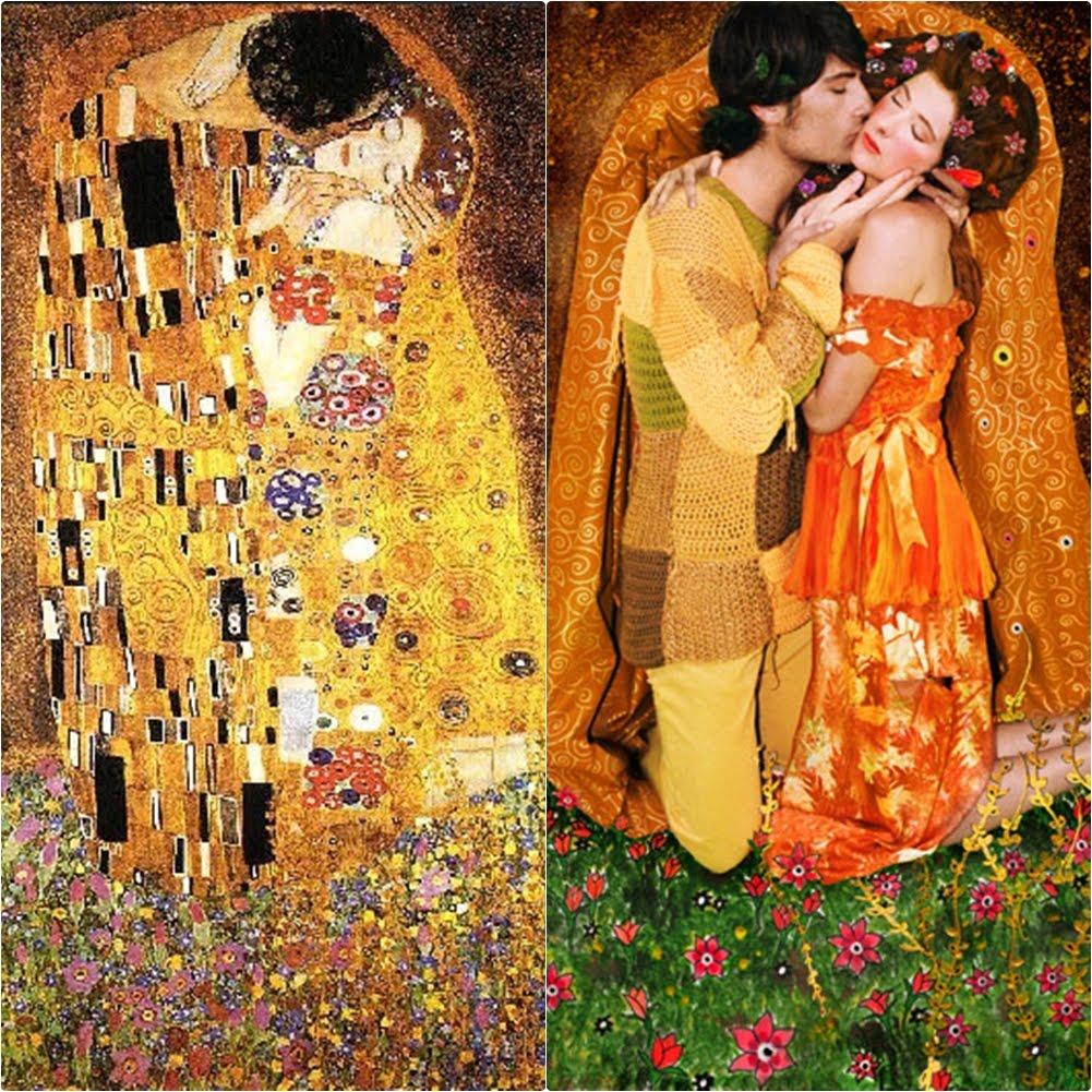Klimt Wallpaper Iphone La Esencia De Klimt Be Inspired Shrimp Salad Circus