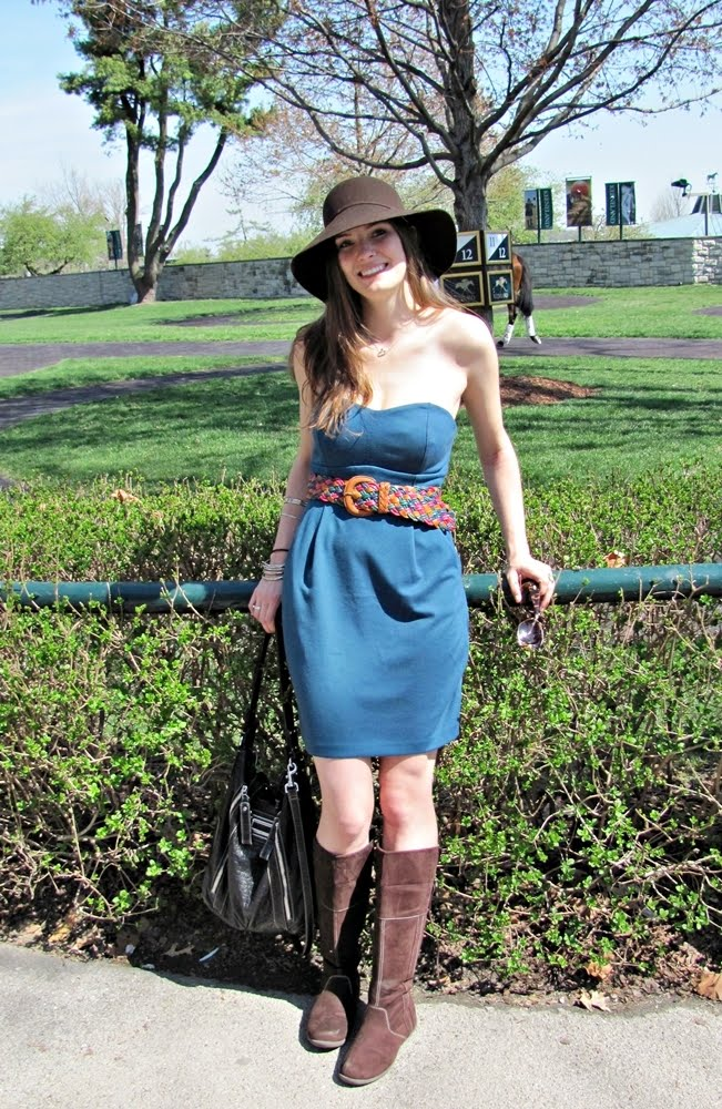 Lauren Conrad Fall Wallpaper What I Wore Opening Day At The Races Shrimp Salad Circus