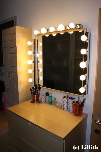 best lillith s dark tower pimp my vanity with visagie spiegel ikea. Black Bedroom Furniture Sets. Home Design Ideas