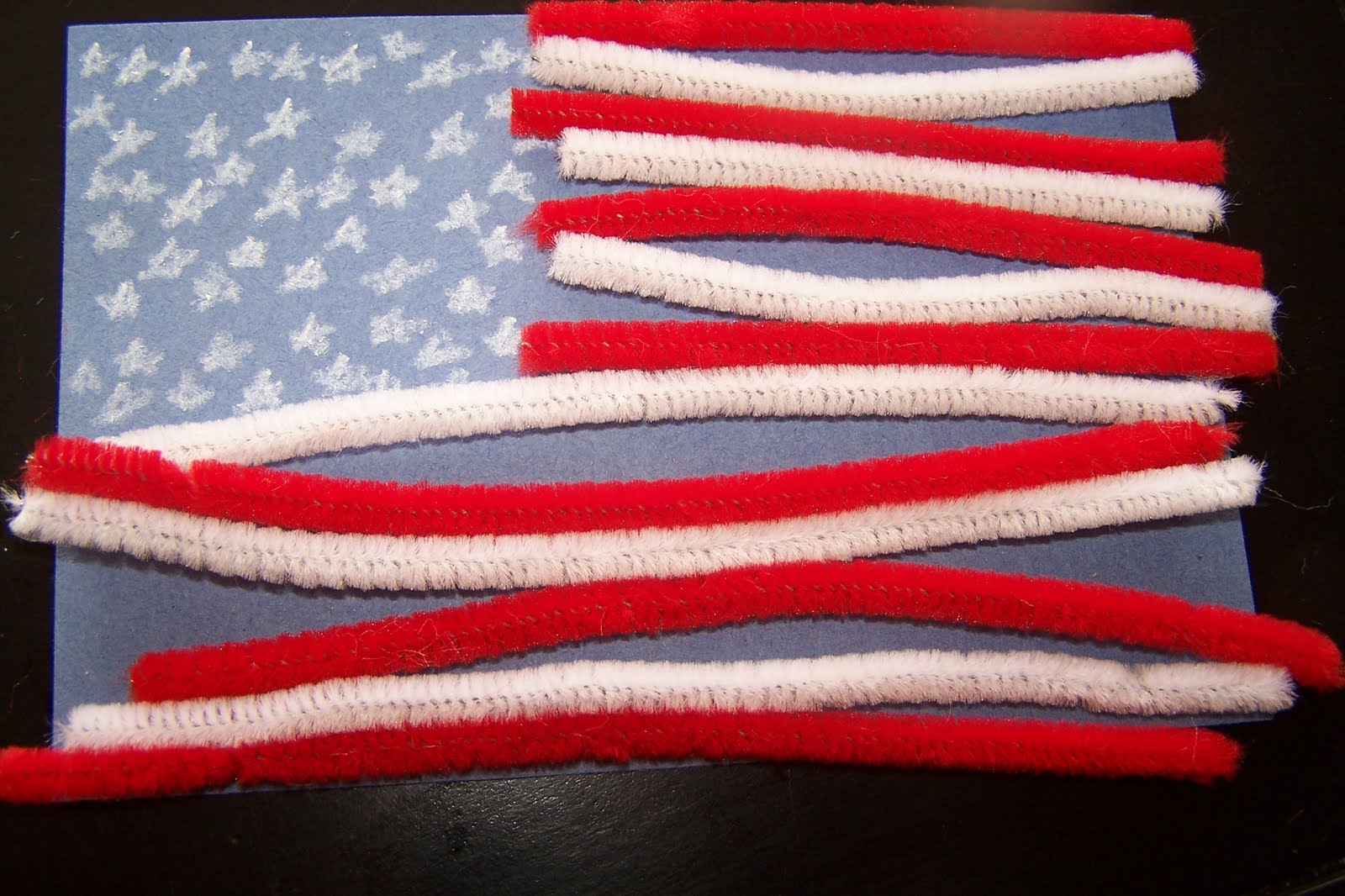 Children S Learning Activities American Flag Pattern Acvitity