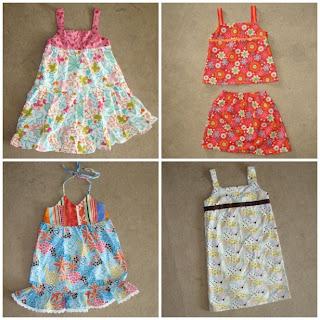 4 Little Dresses