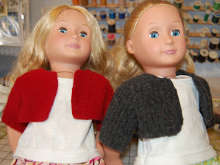 Recycled Wool Sweater for 18″ Dolls