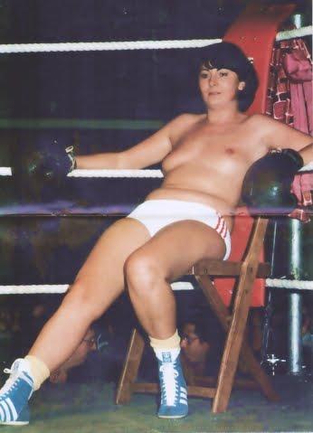mixed boxing cartoon