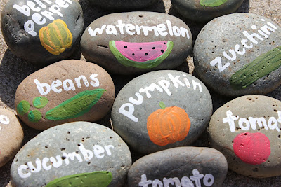 Pebbles Labels | Make Your Own Garden Markers For Cheap With These Ideas