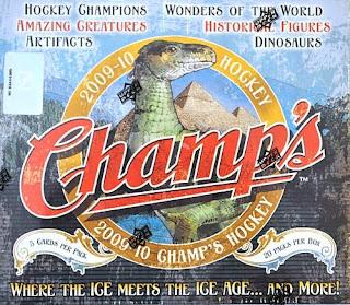 2009-10 Champ's Hockey box break #2