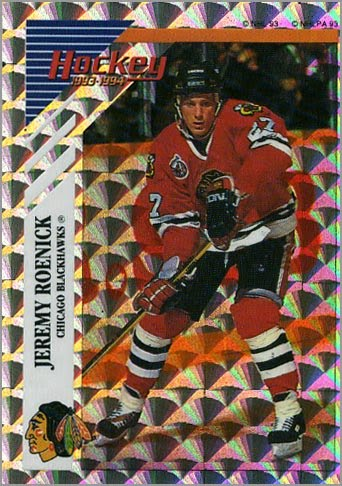 This would also be his second year leading the Blackhawks in scoring. 1993- 94 Panini – Roenick ... e4305fe78