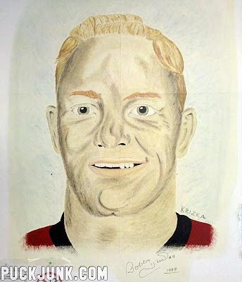 Bobby Hull Mural Painting