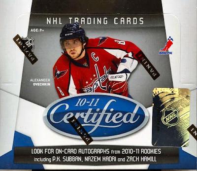2010-11 Certified Hockey box break