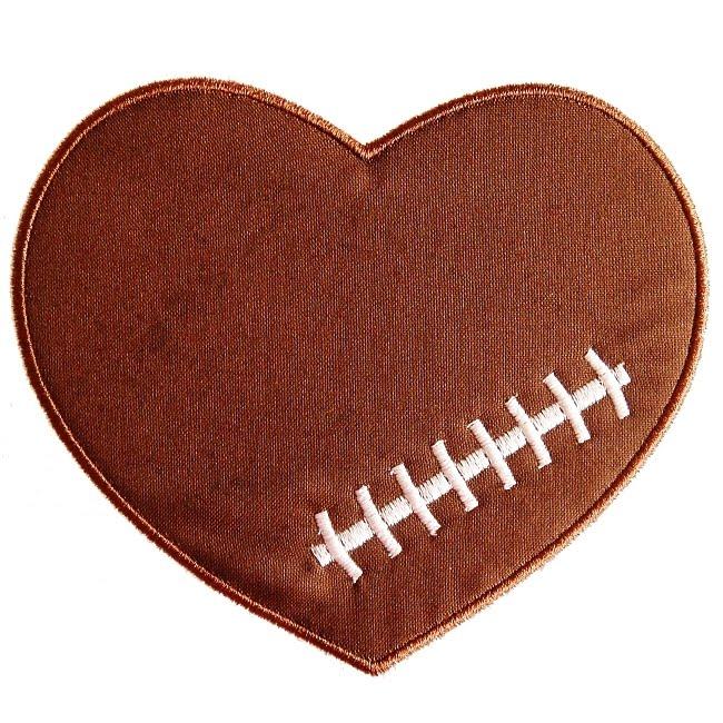 football heart clipart - photo #3