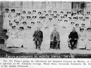 Enfermeria Avanza 100 Anos De La Enfermeria En Mexico