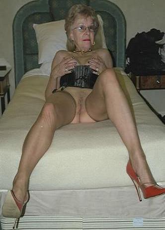 very old oma granny